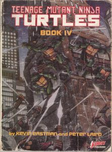My original TMNT #4 collection