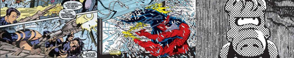 Jim Lee - X-Men / Todd MacFarlane - Spiderman / Dave Sim - Cerebus