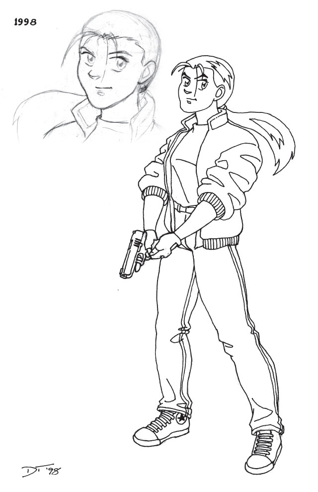 Early PS Kate design