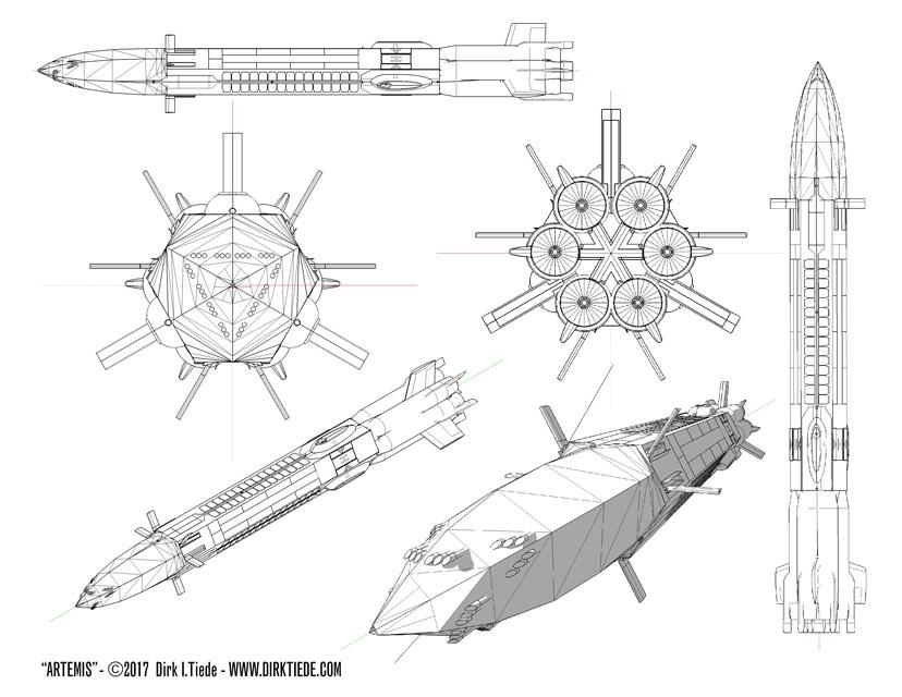 Artemis 3D design