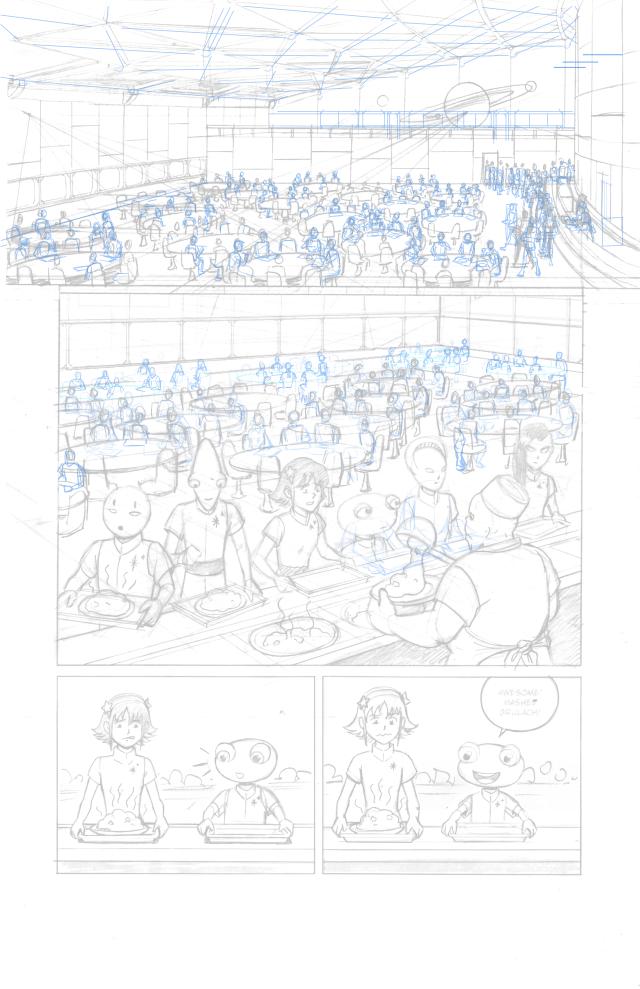 Crowd Pencils
