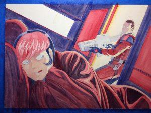 Watercolor underpainting