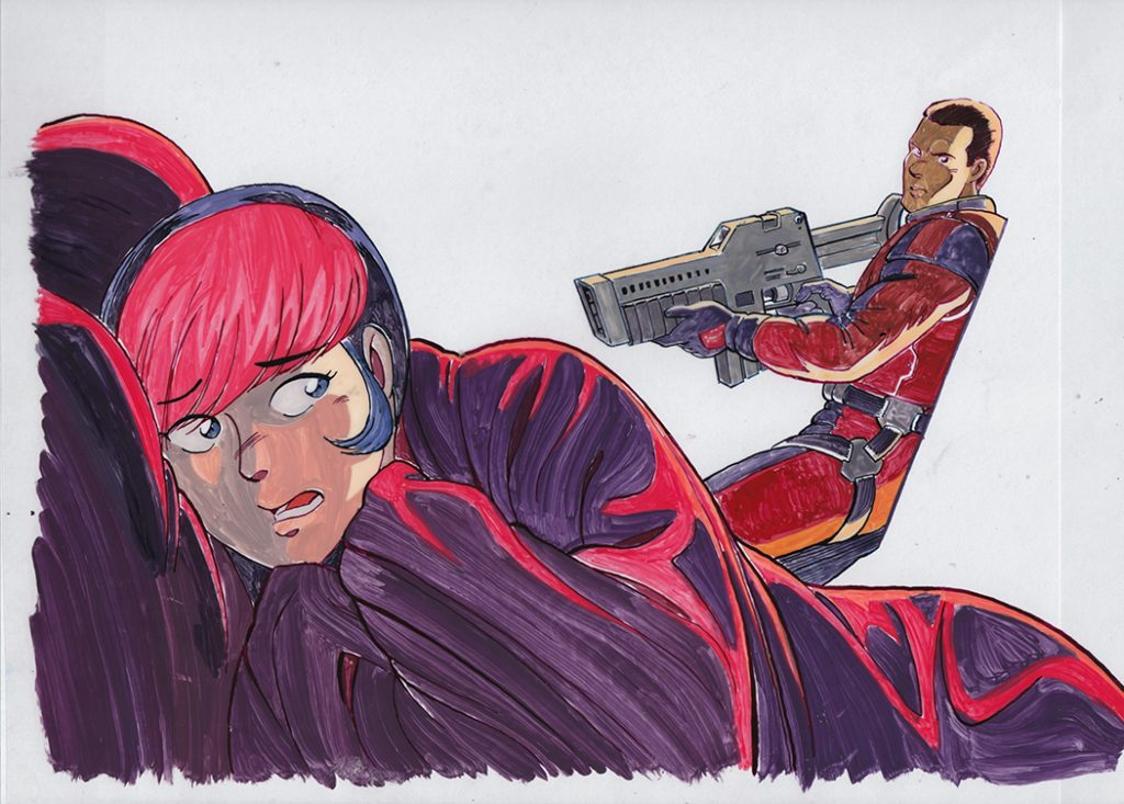 Final cel painting
