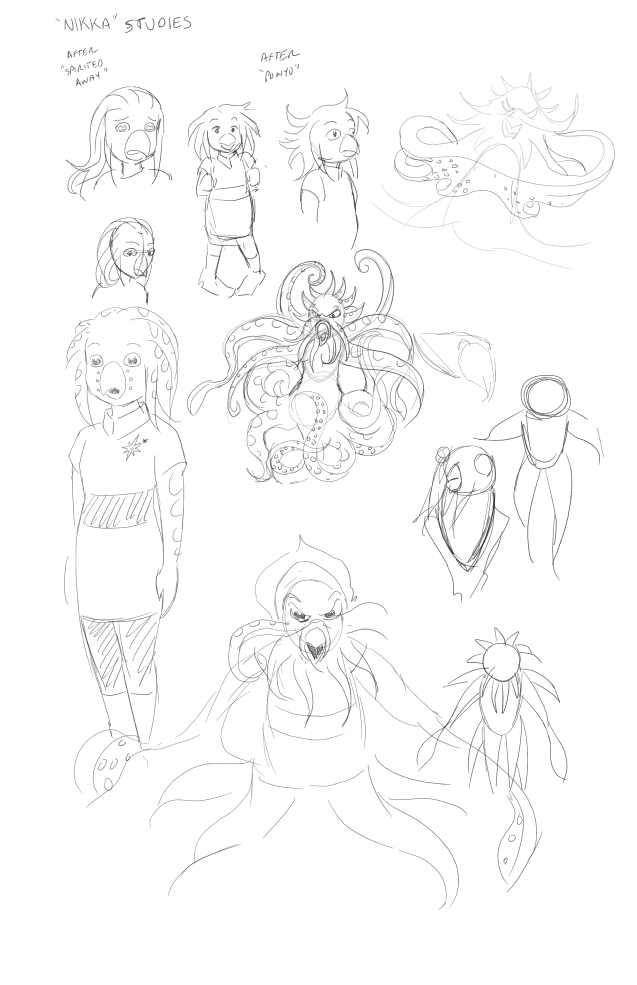 More early sketches