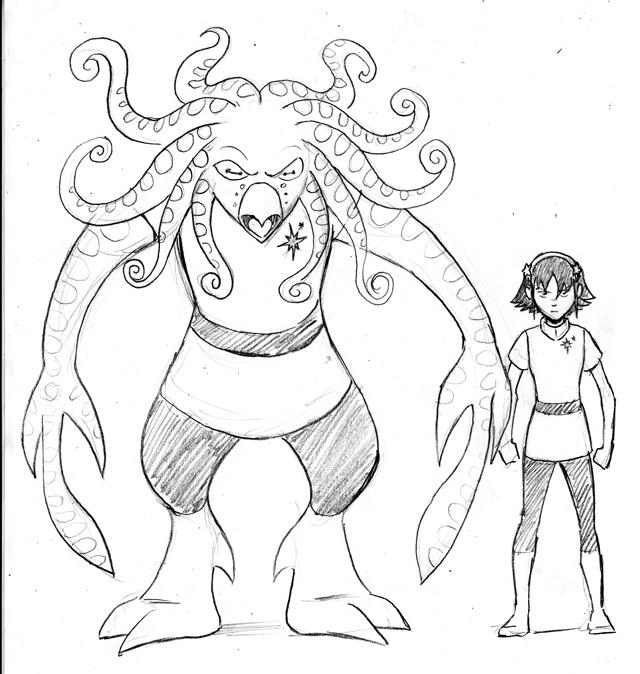 """Big Brute"" monster concept"