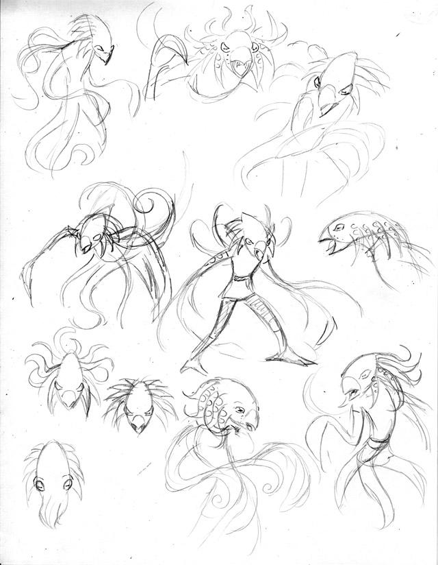 Final concept sketches