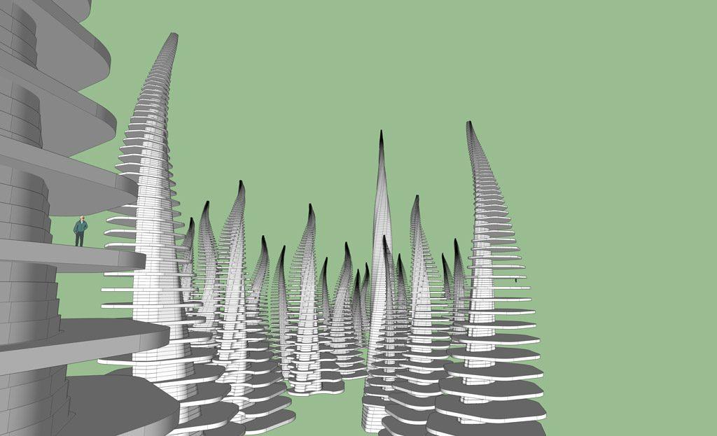 Sketchup City Design
