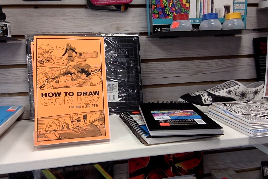 """How to Draw Comics""—A Brief Guide"